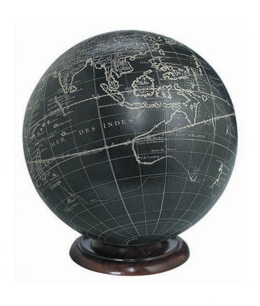Globes For Sale >> Wood Base